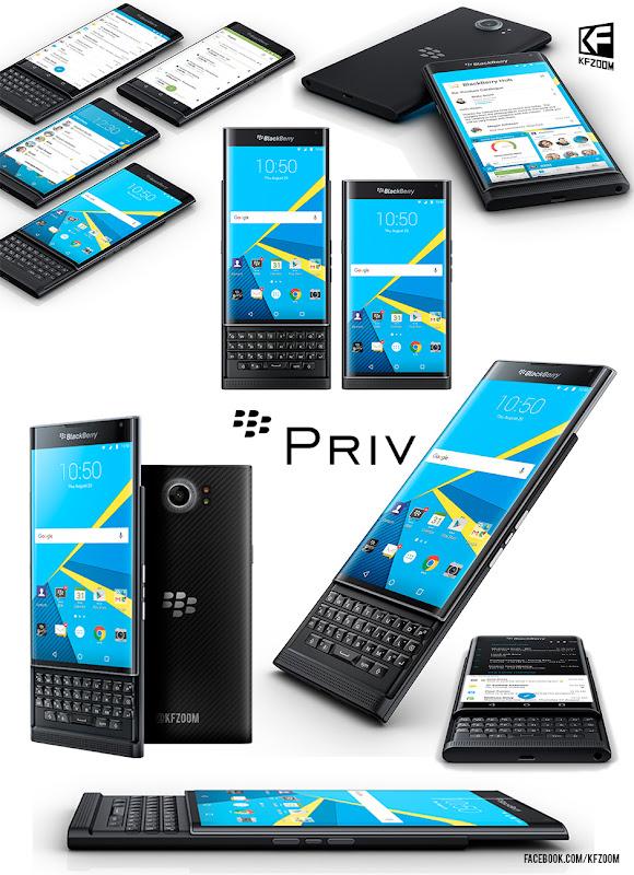 Blackberry Priv Design image