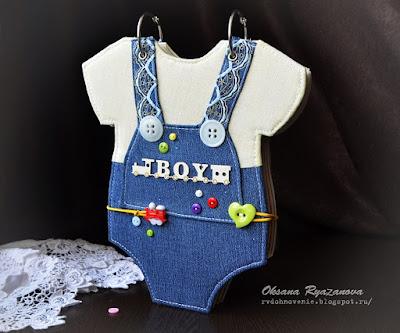 фотоальбом-бодик, фотоальбом для новорожденного, скрапбукинг, альбом первого года жизни, альбом для малыша