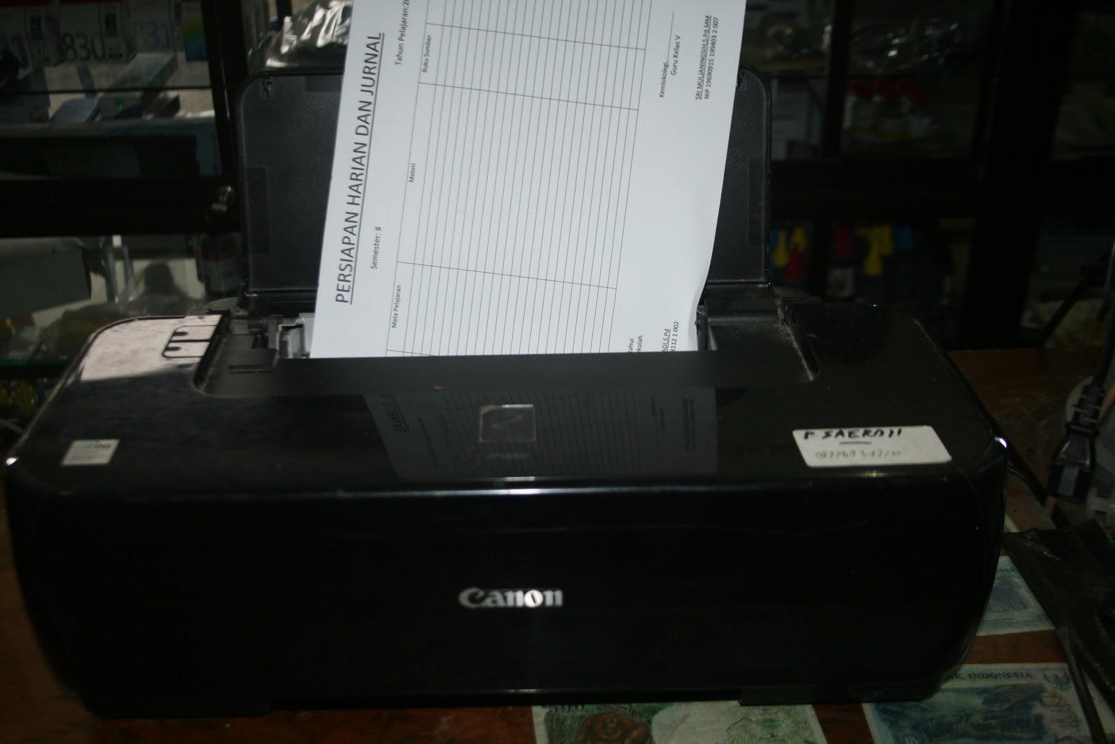 Boedjhank Crew Computer Mengatasi Printer Canon Ip 1880 Narik