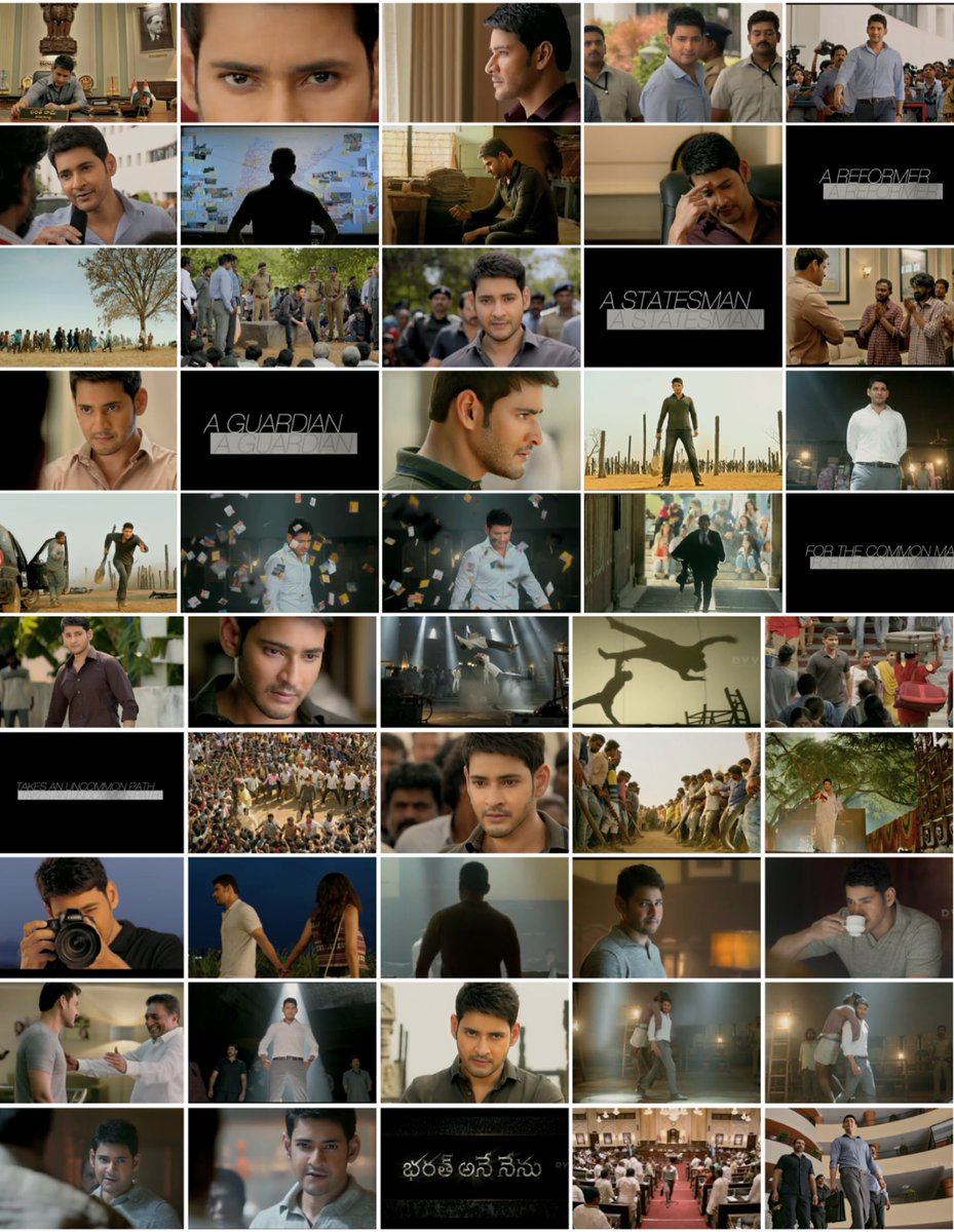 Bharat Ane Nenu trailer