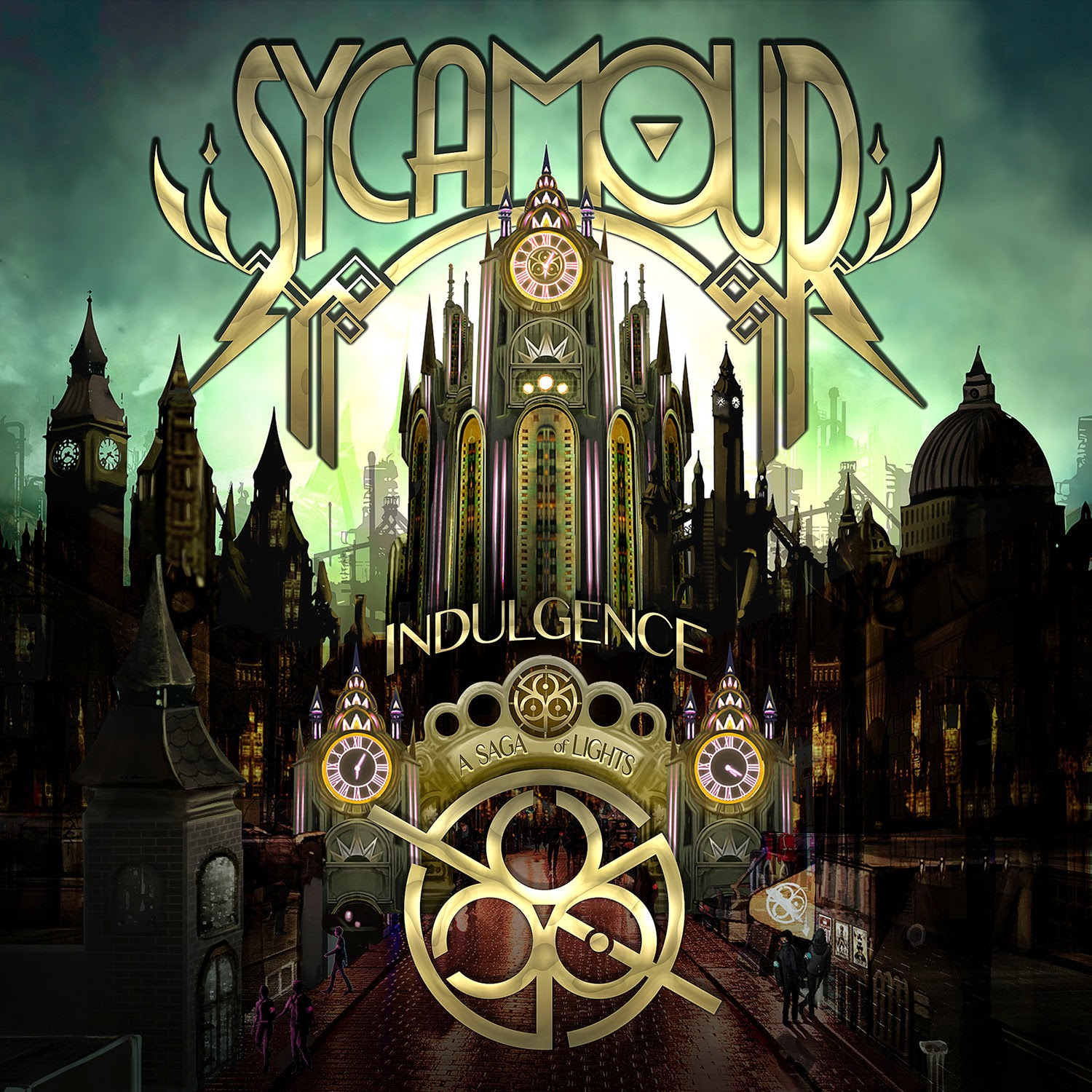 SycAmour - Indulgence: A Saga Of Lights (2014)