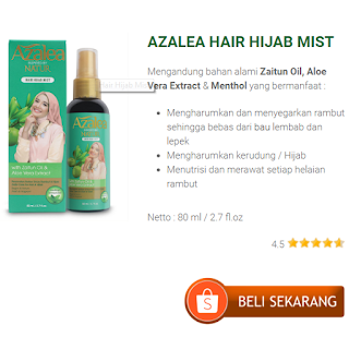 Azalea Hijab Hair & Body Mist