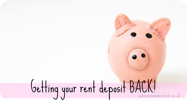 how to get your rent deposit back