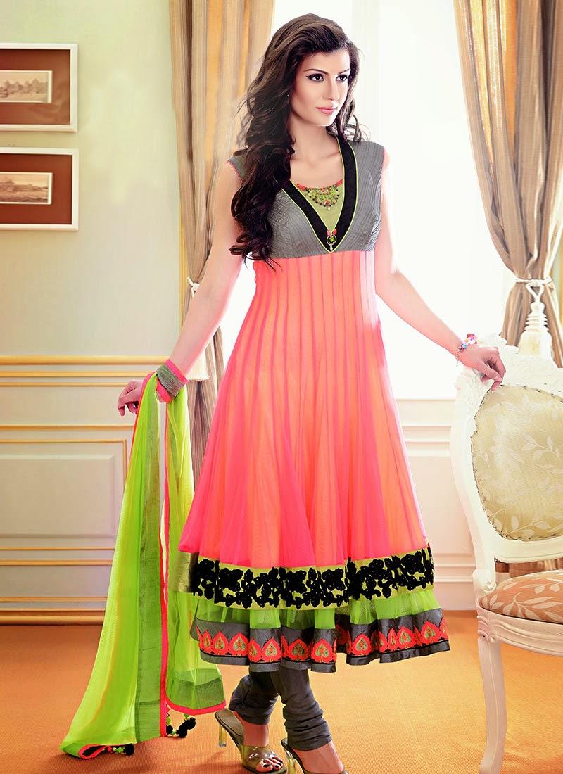 Gorgeous Fancy Wedding Anarkali Dresses 2013 - Vega ...