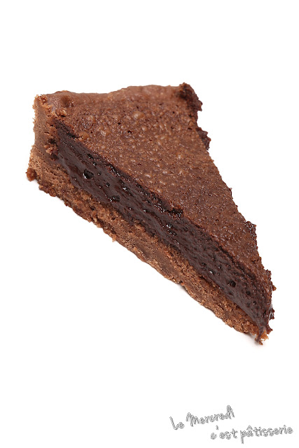 Tarte mousse au chocolat de Christophe Felder