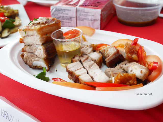 Our group's Tong Kwai Flavour Roasted Pork, yummy!