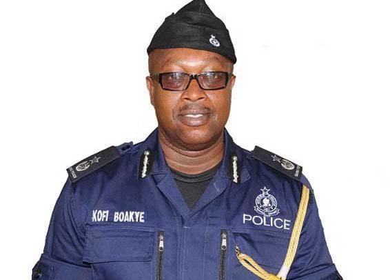 Police Service Shake-Up: COP Kofi Boakye Moved From Asanti Region