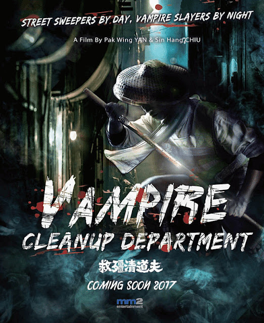Sinopsis Film Horror Vampire Cleanup Department (2017)