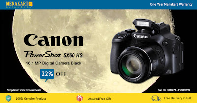 Canon Powershot SX60 HS - 16.1 MP Digital Camera Black