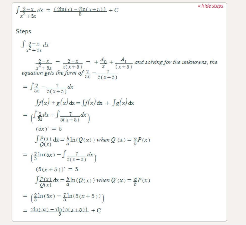 Symbolab Calculator Integral