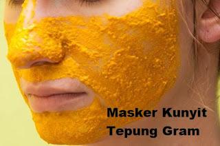 Cara Membuat Masker Kunyit Untuk Wajah Berjerawat Dan Mencerahkan Wajah