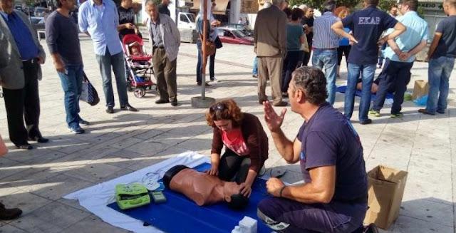 Το ΕΚΑΒ Ηγουμενίτσας συμμετέχει στην Πανελλήνια Εβδομάδα Εκπαίδευσης και Πρόληψης με ενημέρωση των πολιτών και επιδείξεις