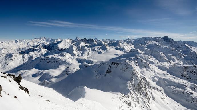 Wallpaper: Mont Fort Pennine Alps