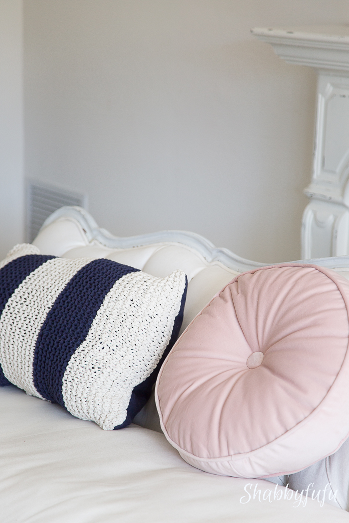 pink-pillow-navy-striped-pillow