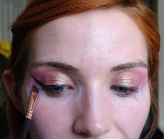 100% Pure Maracuja Mascara as eyeliner