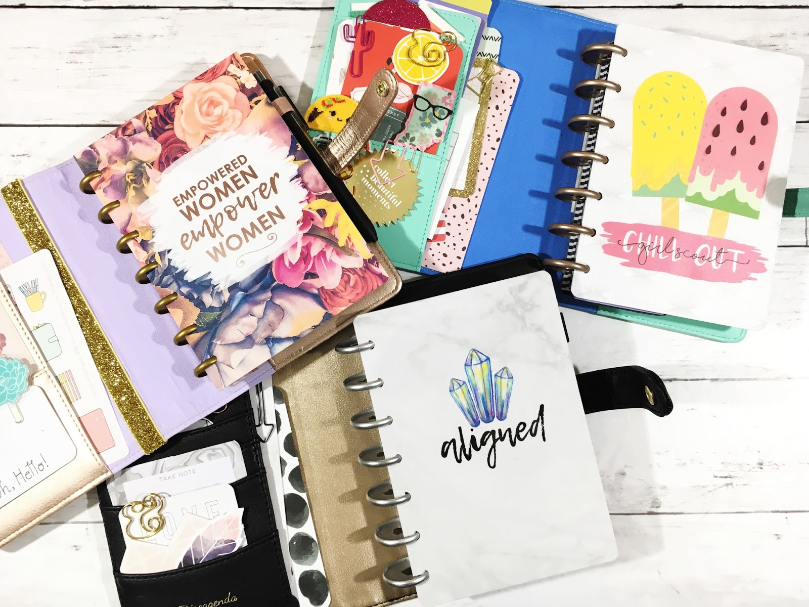 Five sixteenths blog make it monday mini happy planner for For planner