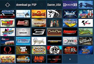 Kumpulan Game PSP / PPSSPP ISO Untuk Android High Compress Terbaru Maret 2017
