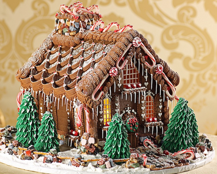 Enchanted Victorian Chalet | Charmingly Cute Gingerbread House Ideas