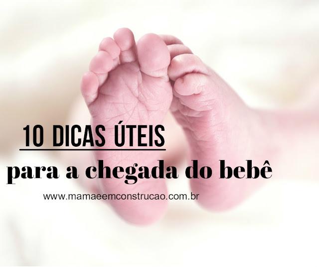 dicas para a chegada do bebê