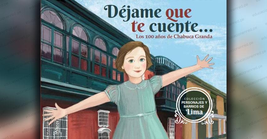 PERSONAJES Y BARRIOS DE LIMA: Presentarán libro por los 100 años de Chabuca Granda, editado por Emilima