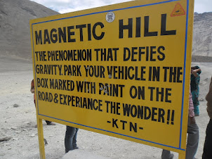 "Amazing ""Magnetic Hill""."