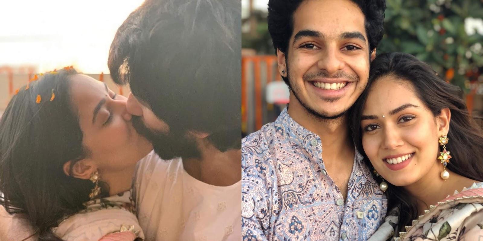 Shahid Kapoor and Mira Rajput share a passionate kiss on Diwali