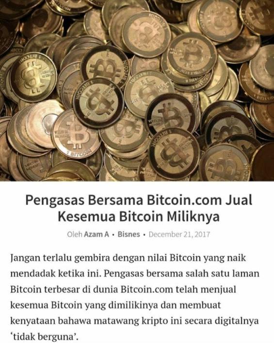 Waspada Dengan Tipu Helah Bitcoin