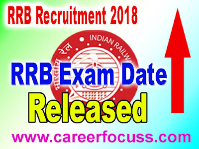 RRB Group D 2018 Exam Date released : Yes. I heard it right. RRB Railway Recruitment Boards, Government of India has released a notification saying that the Computer Based Tests (CBT) for Group D Level 1 posts is likely to start from September 17, 2018.