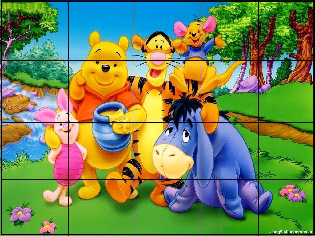 Quebra Cabeça Infantil - Pooh
