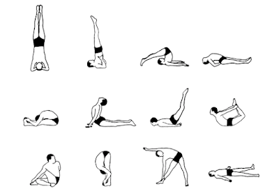12 basic yoga asanas for overall health