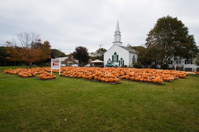Chiesa con zucche-Cape Cod
