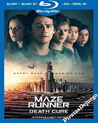Maze Runner: La Cura Mortal (2018) HD 1080P Latino