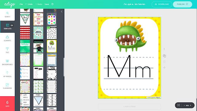 Edigo - graphic design tool for educators