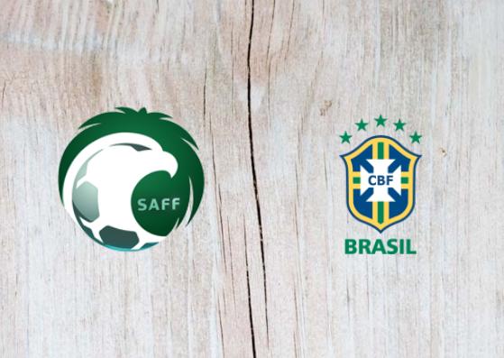 Saudi Arabia vs Brazil Full Match & Highlights 12 October 2018