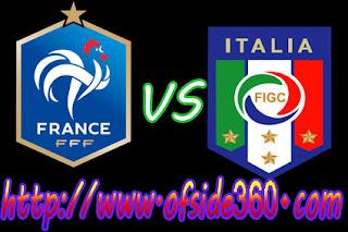 موعد مباراة فرنسا وايطاليا اليوم 1-6-2018-اوفسايد 360