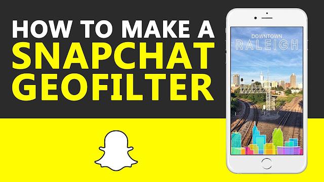 Snapchat Geofilter Tutorial
