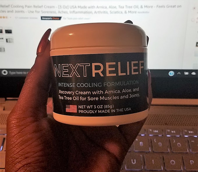 #ProductReview - NextRelief Cooling Pain Relief