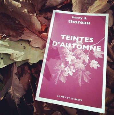 """Teintes d'automne"" - Henry David Thoreau"