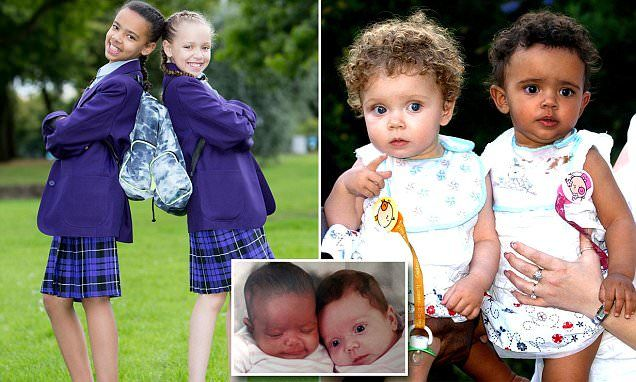 Twins, One White and One Black, Get Ready to start secondary School: 'I Notice People Doing Double-Takes'