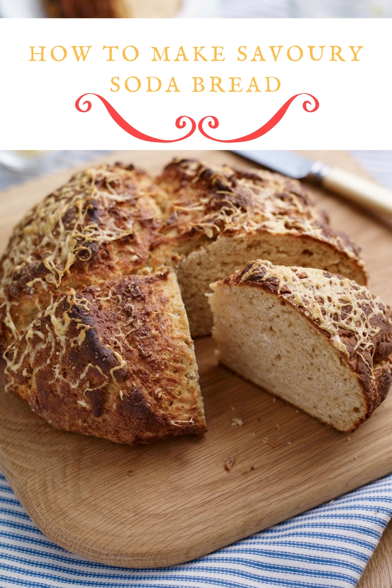 Savoury Soda Bread: Soda Bread With A Twist