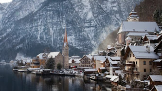 Urban View of Hallstatt