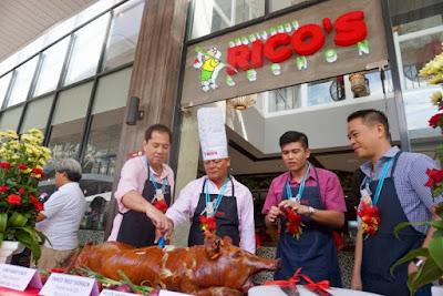 Chef Sandy Daza, Rico Dionson, Carlo Suarez, and Jonathan Lo