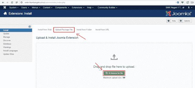 Menampilkan file office pada Joomla