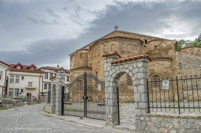 St. Sophia church in Ohrid, Macedonia