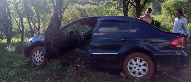 Veículo roubado na sexta em Roncador é recuperado em Nova Cantu