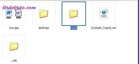 Cách mở File Word 2007 .DOCX trong Word 2003, Folder Word