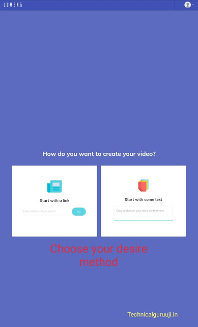 How to convert blog posts to attractive videos Step by step Guide.