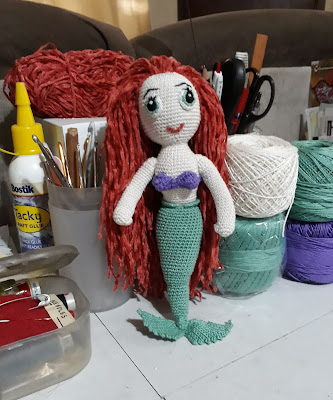 Little Mermaid Crochet