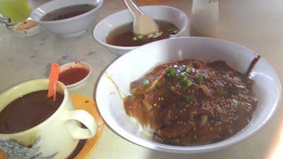 tangkak beef noodles soup kopi o
