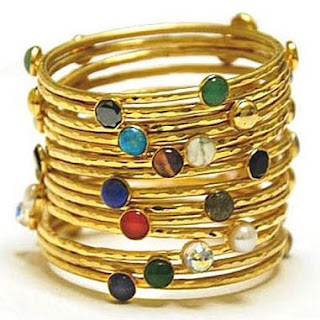 gold stacked bracelets-Luxuria Jewellery Boutique